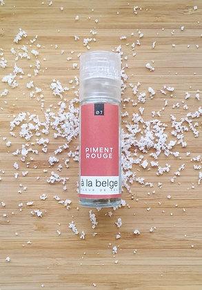 Fleur de sel au piment rouge , grand moulin