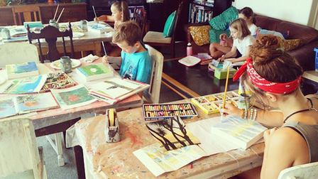 Kids Holiday Painting Workshop- Jan 21st