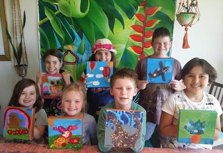Kids Holiday Art Workshop Thurs 12th October 2017