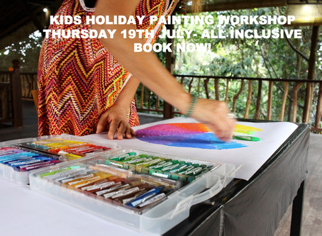 KIDS WORKSHOP 'paint a canvas in a day' 19th July