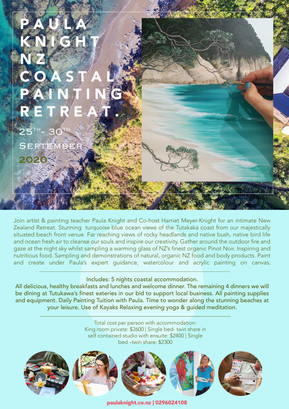 2020 Retreat, rescheduled to Tutukaka