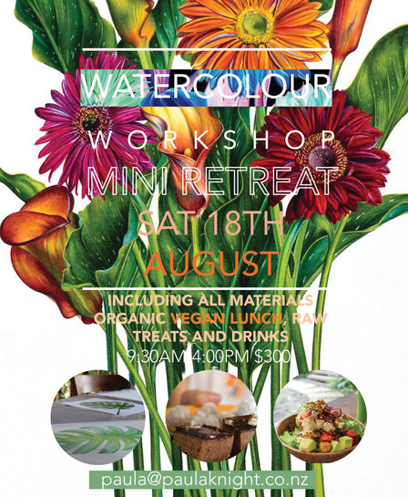 Watercolour Workshop Mini Retreat