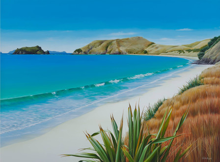 Opito Bay Painting story