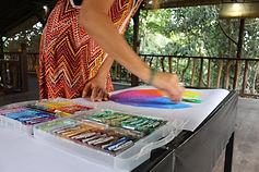 Childrens art classes. Kids painting classes Tauranga