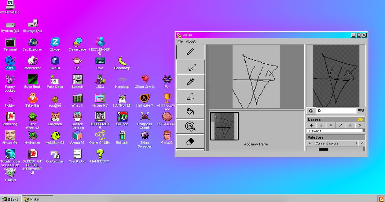 Windows 93 es una página web con la que puedes procrastinar en guayaquil
