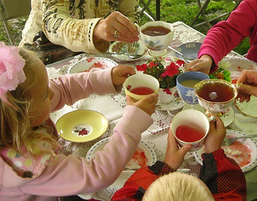 Strawberry Tea at the Plant Sale