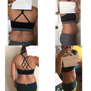 """""""Wanted to thank you again for putting on time and effort to make this challenge possible💖. This challenge has helped me tone up in places I could never tell a difference in. Not only have I toned up, I feel so much stronger! I really feel like this challenge was made at the right time because I was really upset with how much I have let myself stress eat with handling school & work. Your plan has taught me how to feel not confused and more focused than ever at the gym. I walk in with so much confidence now and don't care about people that are in my surroundings that use to be my issue (I would literally walk out of the gym from being so self conscious). I plan to keep following the workouts and workout week schedule to not only help with my health but my mental health. The gym has helped me so much with my anxiety and has been a huge help with calming down. Congrats on your website and the success you have coming you way! I wish you nothing but the best in your future😘😘❤️"""""""