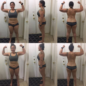 """I wanted to send you my final photos! Thank you for allowing me to be apart of this challenge! I enjoyed the workouts and definitely made some progress over the last 6 weeks. I dropped 8 lbs!"""