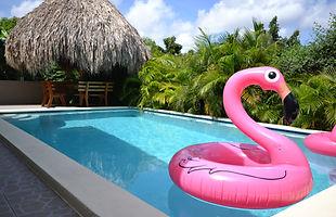 zwembad vakantie curacao