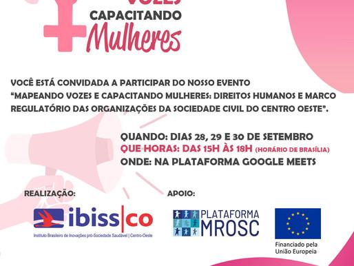 EVENTO: Mapeando Vozes e Capacitando Mulheres