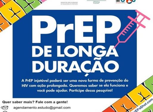Estudo busca voluntários para testar nova profilaxia de longa duração contra HIV