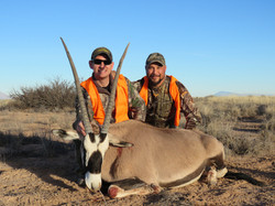 Oryx Wounded Warrior Hunt