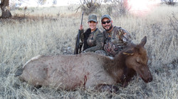 Wife first hunt