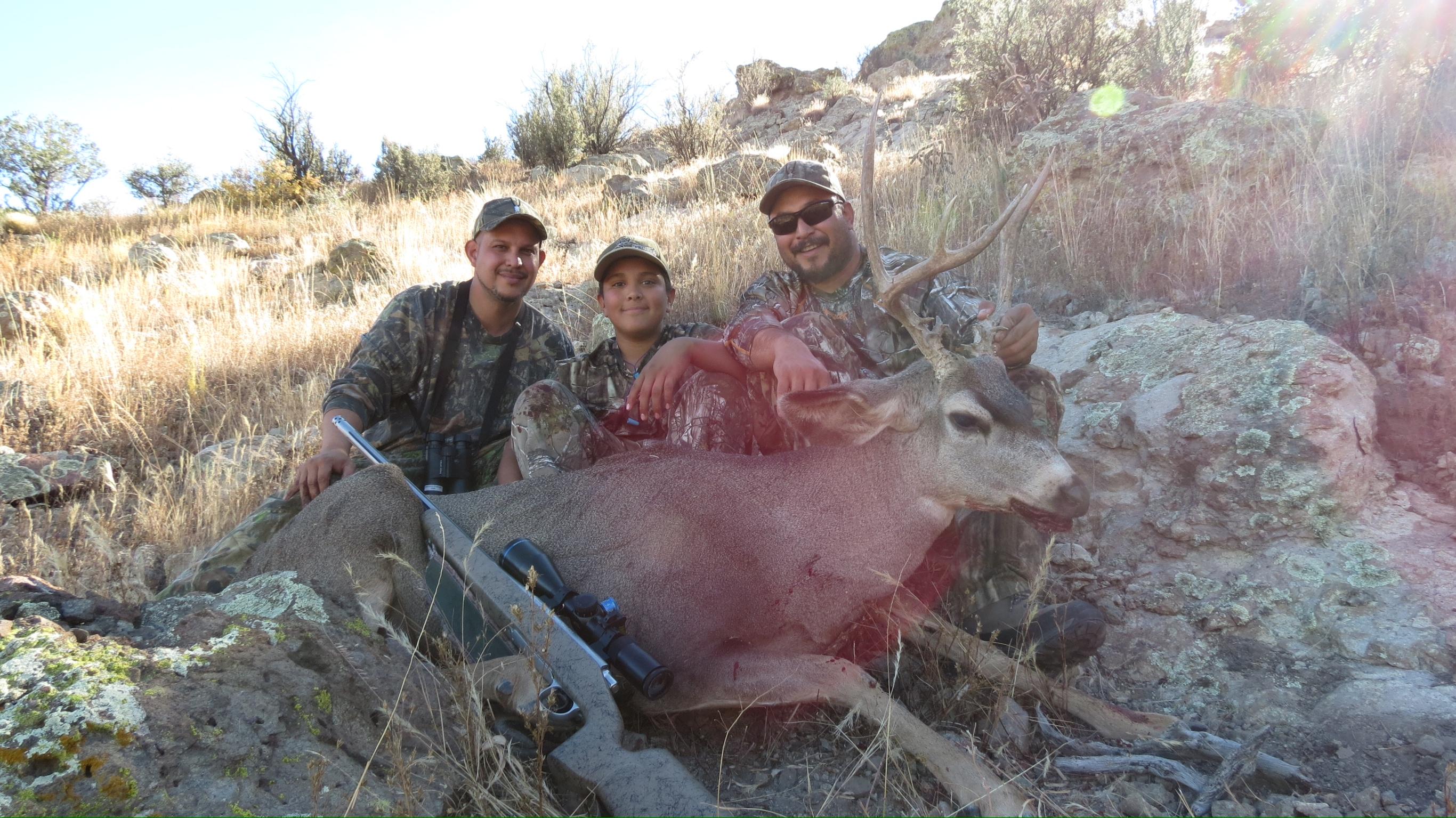 Deer Nephews 1st Deer