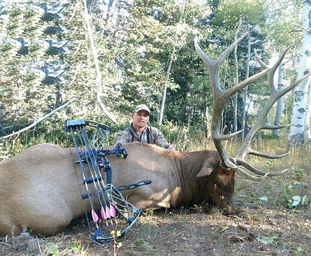 Archery Elk Hunt in Utah on Private Land