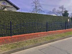 Zaun mit Mauer_David Vogel
