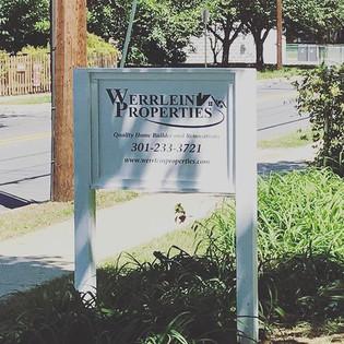 #WERRLEIN properties sign