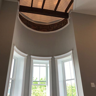 Our latest renovation in NW DC, the mast