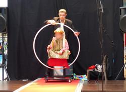 Valerian magicien Blois levitation salon