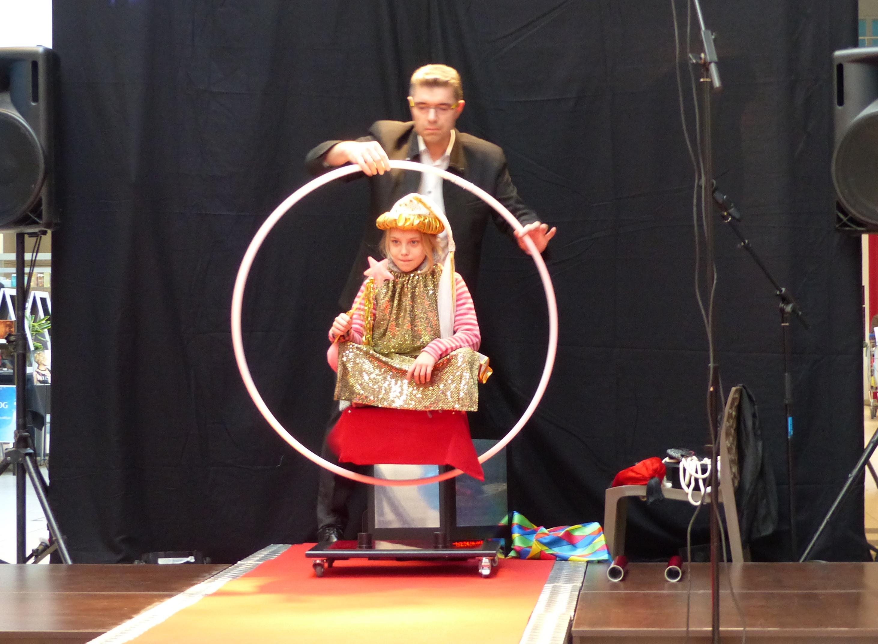 Valerian magicien Blois levitation enfan