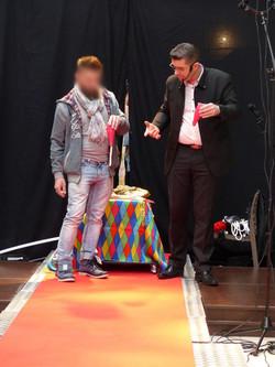 Valerian magicien Blois tour corde et bo