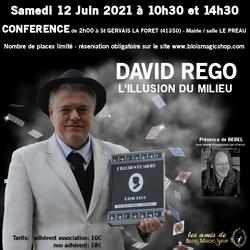 12/06/2021 DAVID REGO - ILLUSION du MILIEU