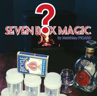 SEVEN BOX MAGIC by Matthieu PICARD