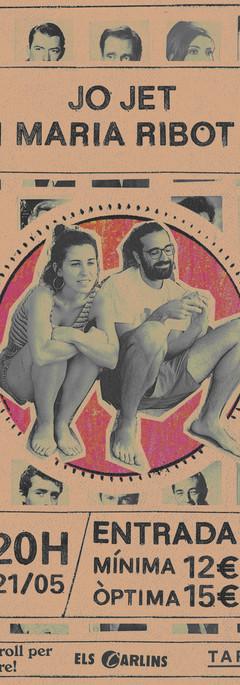 Jo Jet i Maria Ribot TARIMA