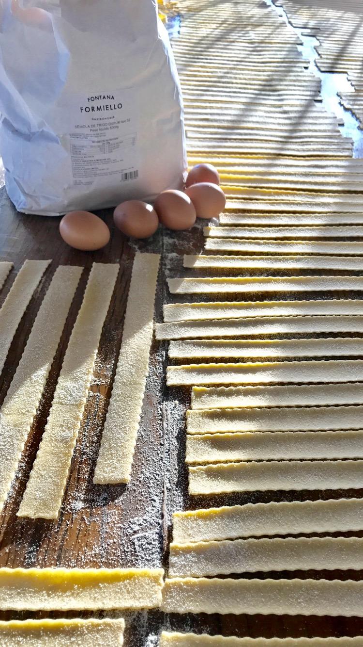 Fabricação do Pappardelle