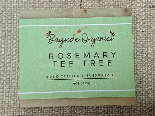 Organic Rosemary Tea Tree Soap