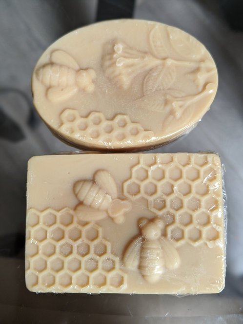 Organic Honey and Shea Butter Soap
