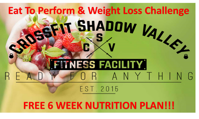 Eat to perform Nutritional Program & Weight Loss Challenge