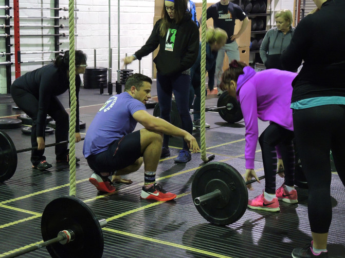 Strenght Seminar- Squat, Deadlift & Press the right way!