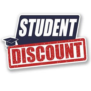 Student Discount!