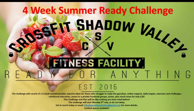 4 Week Summer Challenge!