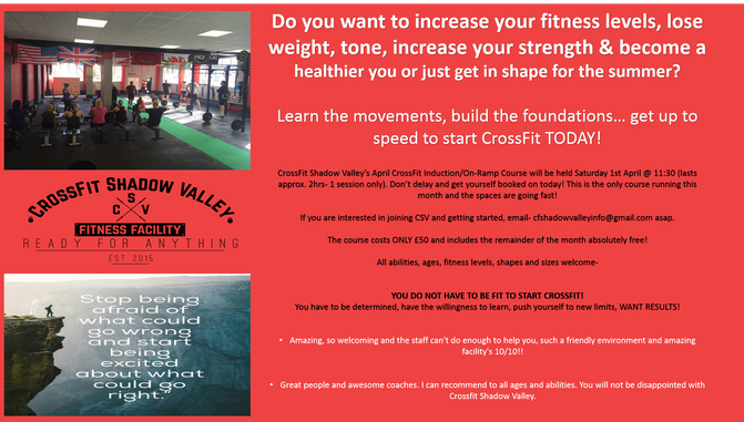 Do you want to start CrossFit?