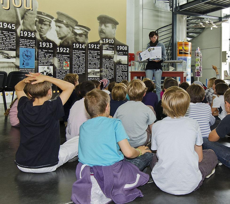 musée, aviation, Angers, Espace Air Passion, chasse au trésor