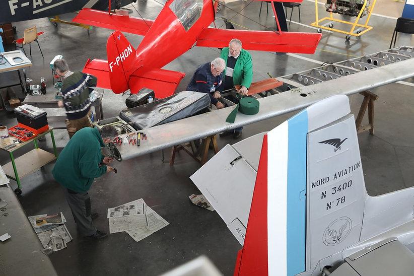 musée, aviation, Angers, Espace Air Passion, avion, Nord 3400, armée de Terre, ALAT