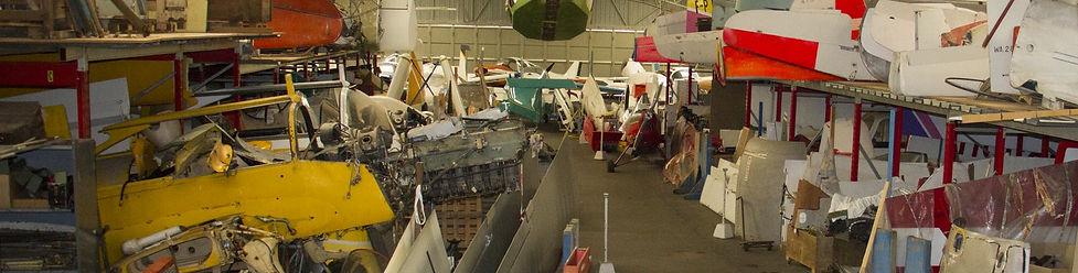 musée, aviation, Angers, Espace Air Passion, GPPA, hangar de réserves, restauration aéronautique