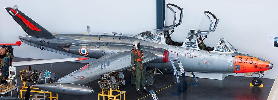 musée, aviation, Angers, Espace Air Passion, Fouga CM.170 Magister, CM.170R Magister, Potez Air Fouga, Castel-Mauboussin 170, Patrouille de France