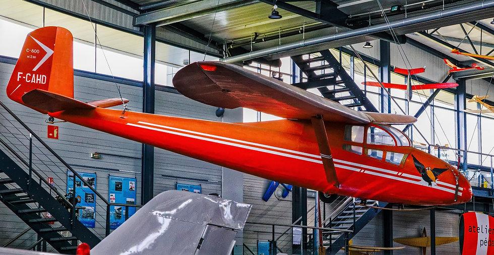 musée, aviation, Angers, Espace Air Passion, Caudron C-800 Epervier