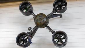 Un drone entre au musée