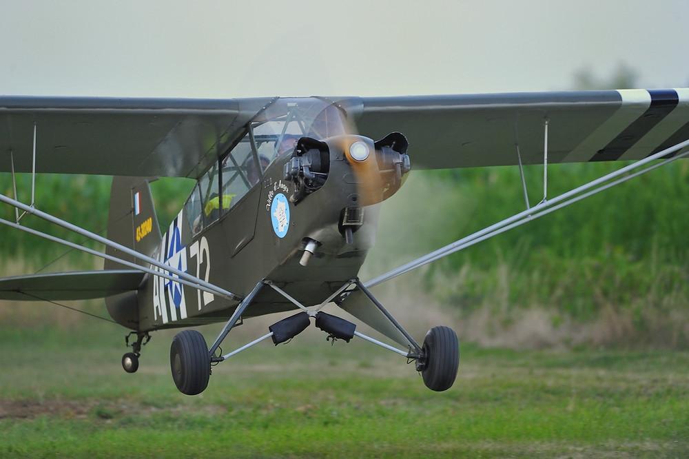 Le Piper L.4H Grasshopper d'Espace Air Passion