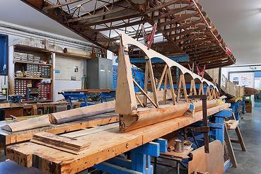 musée, aviation, Angers, Espace Air Passion, GPPA, atelier menuiserie, restauration aéronautique