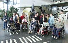 visite guidée, visite adaptée, visite public handicapé, Espace Air Passion