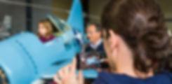 Simulateur enfants, Brewster Buffalo, Espace Air Passion