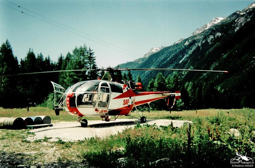 Alouette III SAF F-BPPH