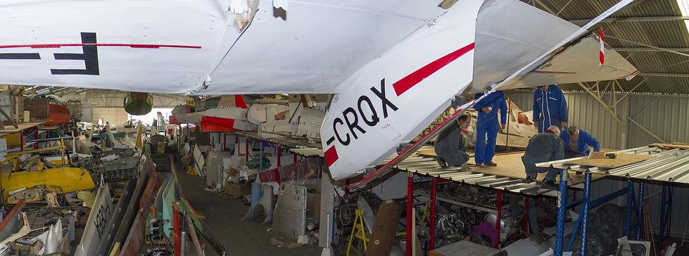 musée, aviation, Angers, Espace Air Passion, GPPA, pôle logistique, réserves