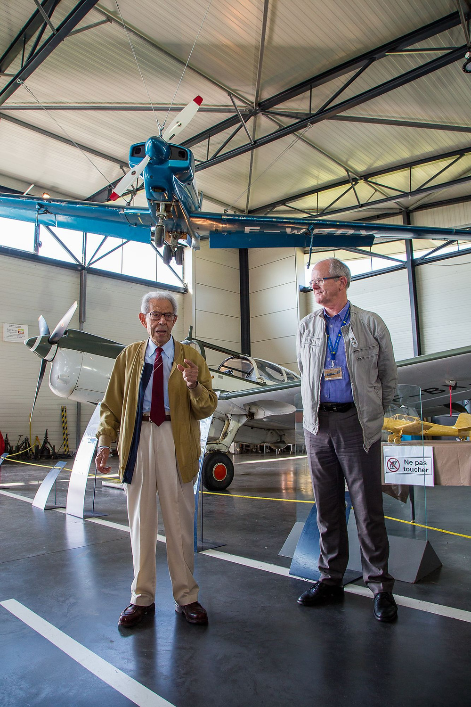Inauguration du RF-8 en présence de René Fournier
