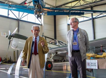 Inauguration du Fournier RF-8